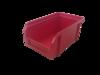 Пластиковый ящик Стелла V-1 литр, красный, 171х102х75 мм