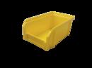 Пластиковый ящик Стелла V-1 литр, желтый, 171х102х75 мм