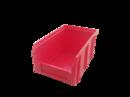 Пластиковый ящик Стелла V-2 3,8 литр, красный 234х149х121 мм