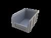 Пластиковый ящик Стелла V-2 3,8 литр, серый 234х149х121 мм