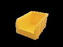 Пластиковый ящик Стелла V-2 3,8 литр, желтый 234х149х121 мм