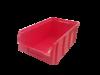 Пластиковый ящик Стелла V-3 9,4 литр, красный 341х207х143мм